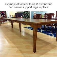 Dining Extension Table Leg Tables Small Spaces