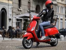 This Utilitarian Scooter Became A Style Statement In Itself Able To Influence Fashion Successive Decades Since Its Birth 1946 The Vespa Was