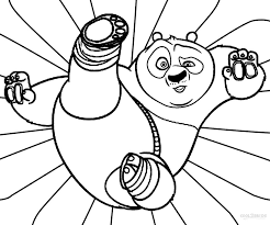 To Print Kung Fu Panda Coloring Pages 13 For With