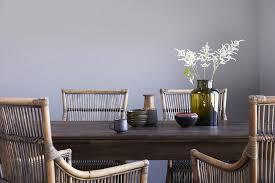 hygge esstisch 240x100cm vintage teak esszimmer tisch holz küchentisch massiv