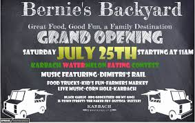 Full Review Of Bernie's Backyard – Grand Opening Event On July 25th ... The 10 Best Food Trucks Right Now Houstonia Truck Park Ready To Roll Into Spring Houston Chronicle Full Review Of Bernies Backyard Grand Opening Event On July 25th Htown Streats Keeps On Trucking 13 Best Truck Images Pinterest Carts Trucks And Coffee Kolaches This Saturday At Southside Htown Eater Rival Brothers Served Up Hot Cupsojoe For Big Sexy Finds A Brick Mortar Home Chicken Tender My Park Htx Closed 61 Photos 33 Reviews Fugu Authentic Asian Street Wheels By Bing Liu