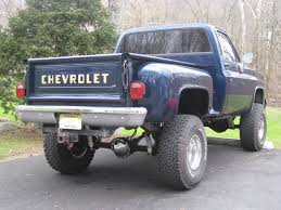 For Sale Or Trade 1986 Chevy K10 Stepside. Trade For 1955-59 Chevy ...
