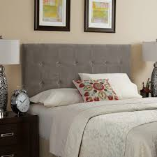 Velvet Headboard King Size by Amazing Gray Tufted Headboard For A Serene And Sumptuous Bedroom