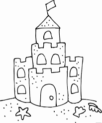 1338x1600 50 New Collection Of Sand Castle Coloring Page