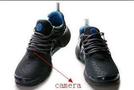 Mini Hidden Camera For Bathroom by Shoes Spy Camera