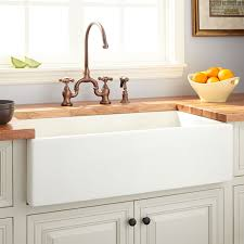 Rohl Fireclay Sink Cleaning by Farmhouse Sinks Apron Front Sinks Signature Hardware