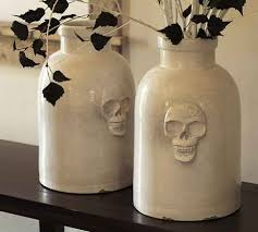 Pottery Barn Skull Vase Knock f The Country Chic Cottage