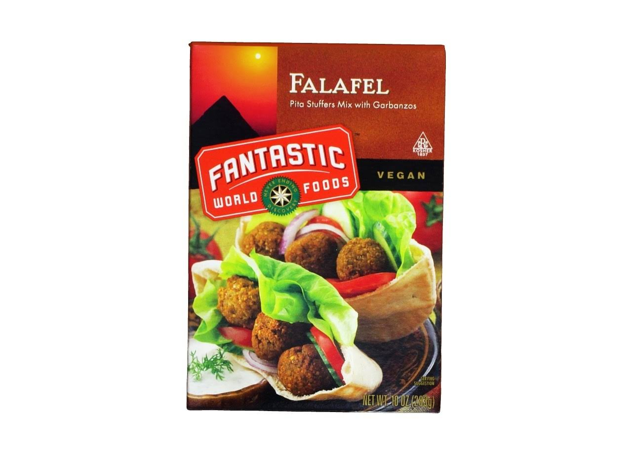 Fantastic World Foods Falafel Vegan - 283g