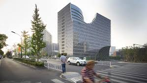 100 Jds Architects Arched Pathways Cut Through Hangzhou Office Block By Julien