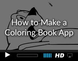 How To Make A Coloring Book App With Xcode