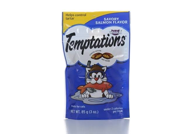Temptations Classic Cat Treats - Savory Salmon, 3oz
