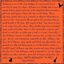 Is Halloween Capitalized by Halloween Essay Paragraph In English For Kids Children