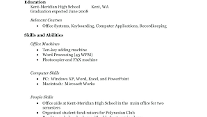Sample Resume For Highschool Graduate With Little Experience Template Singular Work Stylish No Templates Teenager Job