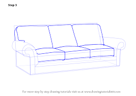 Drawn Couch Cartoon 3