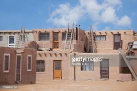Pictures Of Adobe Houses by Exterior Of Adobe Houses Stock Photo Getty Images