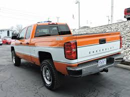 Chevy Silverado Cheyenne Super 10 In Orange And White...super Cool ... 2017 Chevy Silverado 2500 And 3500 Hd Payload Towing Specs How New For 2015 Chevrolet Trucks Suvs Vans Jd Power Sale In Clarksville At James Corlew Allnew 2019 1500 Pickup Truck Full Size Pressroom United States Images Lease Deals Quirk Near This Retro Cheyenne Cversion Of A Modern Is Awesome 2018 Indepth Model Review Car Driver Used For Of South Anchorage Great 20