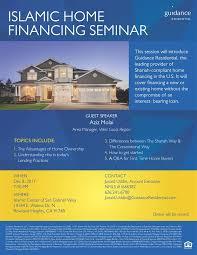 Friday Night Islamic Home Financing Seminar – Islamic Center of