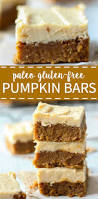 Paleo Pumpkin Cheesecake Snickerdoodles by Paleo Pumpkin Bars What Molly Made