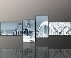 designbilder 160x50cm wandbild modernes bild berlin abstrakt