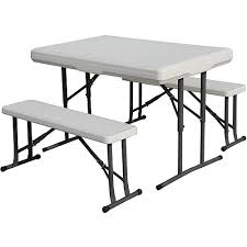 collapsible picnic tables kobe table