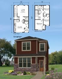 100 Beautiful Duplex Houses Storey House Plans For Narrow Lots Floor Plan