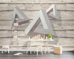beibehang custom tapete 3d stereo foto wandmalereien dreieck holz wohnzimmer schlafzimmer hintergrund wand papier 3d papel de parede