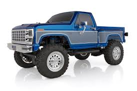 100 Rc Ford Truck CR12 F150 44 PickUp Blue 112 Scale RTR Ready To Run