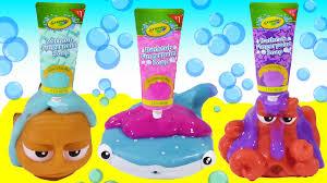 Crayola Bathtub Fingerpaint Soap Set by Magical Bubble Bath Bath Paint Disney Finding Dory U0027s Hank Destiny