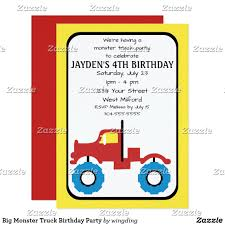 Big Monster Truck Birthday Party Invitation | Party Invitations ... Monster Truck Party Printables Set Birthday By Amandas Parties Invitation In 2018 Brocks First Birthday Invite Car Etsy Fire Invitations Tonka Envelopes Engine Online Novel Concept Designs Jam Free British Decorations Supplies Canada Open A The Rays Paxtons 3rd Party Trucks 1st 2nd 4th Ticket Iron On Blaze And The Machines Baby Shark Song Printable P