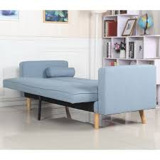 canap bleu clair canapé convertible scandinave tissu bleu clair coin du design