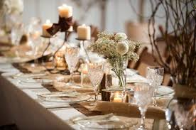 Amazing Of Rustic Wedding Table Decorations Reception