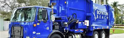 100 Garbage Truck Rental Pickup Schedules City Of Boynton Beach