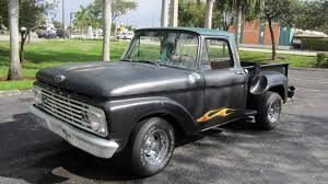 1963 Ford Pickup | T82 | Kissimmee 2016 1963 Ford F100 Youtube For Sale On Classiccarscom Hot Rod Network Stock Step Side Pickup Ideas Pinterest F250 Truck 488cube Blown Ford Truck Street Machine To 1965 Feature 44 Classic Rollections Classics Autotrader