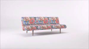 inside canapé fabulous canape sofa convertible theme floral tropical multicolore