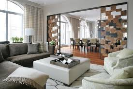 Rectangular Living Room Dining Room Layout by Cream Fabric Window Curtains On The Hook And Rectangle White