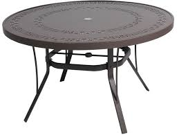 gorgeous 48 inch round patio table cover with umbrella hole square