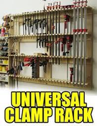 1368 practical shop clamp storage workshop solutions plans tips