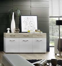 kommode spirit sideboard kombikommode esszimmer wohnzimmer schlafzimmer flur weiß sandeiche