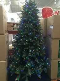 Pre Lit Christmas Trees Costco Led Connect Dual Color Tree Item 75 Foot 9 Ft At