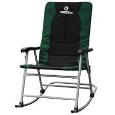 Gander Mountain Rocking Quad Chair Hunter Green-760905 ...