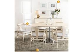 Julian Table With Evan Chairs Modern Dining Room Kitchen For And Board Designs 16