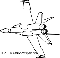 Clip Arts Related To Jet clipart black and white
