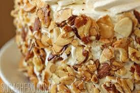 Better burnt almond cake recipe Cake man recipes
