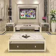 tv ständer wohnzimmer monitor stand mueble stalinite edelstahl schrank mesa tv tisch kaffee centro tisch 2 schränke