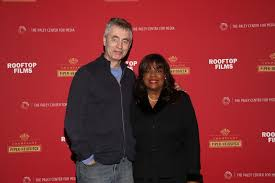 Steve James Chaz Ebert Braved The Snowstorm To Attend Rooftop Films And Champagne Piper Heidsieck Hosted Special Screening Of Life Itself New