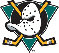 Mighty Ducks Primary Logo 1993 2006 The Was Subsequently Used In Disney Movie D2 Design Elements Appear This