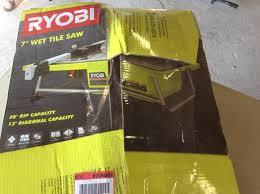 Ryobi Tile Saw 7 by Ryobi Wet Tile Saw 7