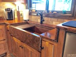 copper apron sink meetly co