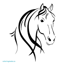 Coloring Pages Of A Horse Head Copy Face Page Fresh Zentangle Pictures