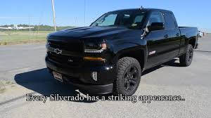 100 Blacked Out Truck 2017 Chevy Silverado Blackout Edition At A Glance Central Maine